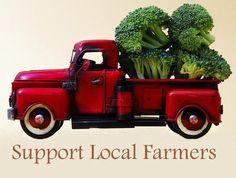 Buy local. Buy organic.