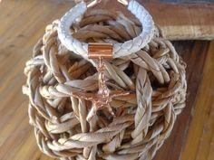 Starfish bracelet Pinkgoldplated silver starfish by TzenNikoletta