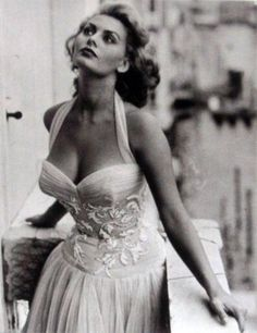 Sofía Loren, años '50.