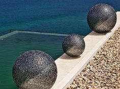 Image detail for -Stainless Steel Spheres - Sculptura – cutting-edge, large ...
