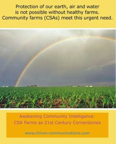 #Protect our #earth #air and #water with clean #community #CSA  #farms  Google+