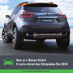 O novo Nissan Kicks vai aparecer para o público pela primeira vez na cerimônia de revezamento da Tocha Olímpica. Que tal começar desde já a programar a compra do seu pelo consórcio? Acesse: https://www.consorciodeautomoveis.com.br/noticias/novo-nissan-kicks-programe-a-compra-do-seu-pelo-consorcio?idcampanha=206&utm_source=Pinterest&utm_medium=Perfil&utm_campaign=redessociais