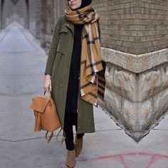 styles of Hijab Chic for a stylish winter 2019 - styles of Hijab Chic for a stylish winter 2019 - Hijab Fashion and Chic Style Hijab Chic, Hijab Casual, Hijab Fashion 2017, Modern Hijab Fashion, Muslim Fashion, Modest Fashion, Fashion Outfits, Fashion Top, Hijab Stile