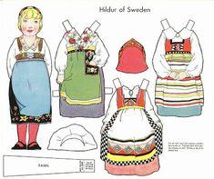 The Paper Collector: Hildur of Sweden
