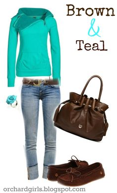 super cute teal outfis | Labels: Fall , Outfit Inspiration , Roundups