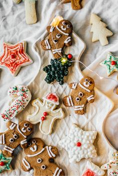 Make these for other holidays by switching up the cookie cutters. #cookies #baking #gingerbreadmen #holidays #dessert #sweets