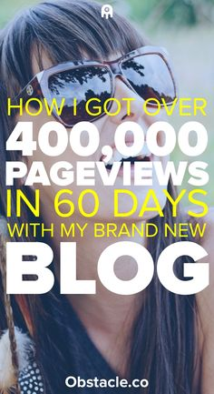 Ready to grow your blog quickly? Here are the strategies I used to grow a blog to over 400,000 pageviews in the first 60 days using Pinterest traffic.