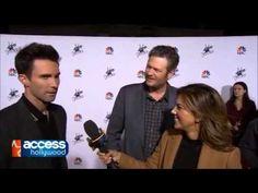 Adam Levine Blake Shelton funny interview