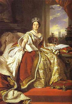Franz-Xaver Winterhalter, who was the official painter of the dynasty Orleans before 1848,