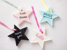 Star Scent Wax Sashet Baby shower  Wedding gift  by BytheSeajewel