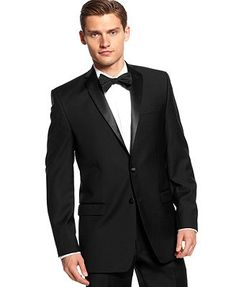 Calvin Klein Tuxedo Separates Solid Jacket Slim Fit