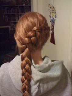 inside - outside braid