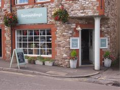 Surroundings is at heart a framing shop but they have extended it to take in vintage and painted  furniture in the beautiful market town of Thornbury.