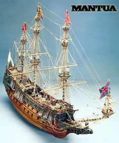 Ship model Sovereing of Seas, wooden kit Mantua Sergal (www.victoryshipmodels.com)