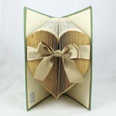 folded book art - decorations