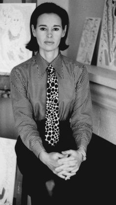 Gloria Vanderbilt - Artist, author, actress, heiress and socialite. Early developer and designer of blue jeans.
