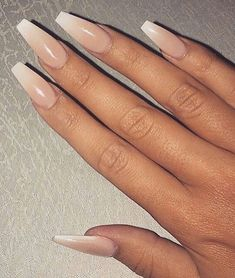 50+ Beautiful Nude Colour Nail Art
