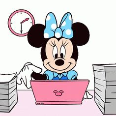 The perfect MinnieMouse OffWork Animated GIF for your conversation. Discover and Share the best GIFs on Tenor. Animated Cartoon Characters, Cartoon Gifs, Animated Cartoons, Cartoon Drawings, Minnie Mouse Drawing, Mickey Mouse, Wallpaper Pc Anime, Minnie Mouse Pictures, Design Comics