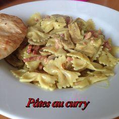 Pâtes au curry - La vie est belle même au régime ! Le Curry, Potato Salad, Cabbage, Potatoes, Chicken, Meat, Vegetables, Healthy, Ethnic Recipes