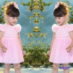 Beautiful cap sleeve fashion girl dresses pink best dresses  contact:moon01@moonyao.com   #GirlClothing #KidsClothing #GirlDress #KidsDress