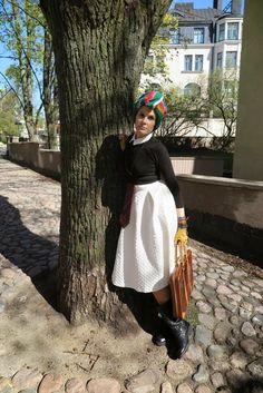The wardrobe of Ms. B: Turban