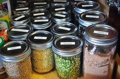 Guidelines to how and where to store all kinds of food and produce, with a downloadable pdf.
