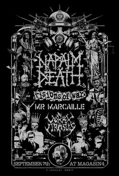 Napalm Death - Fabrice Lavollay - 2015 ----