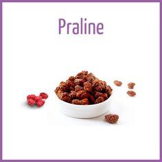 Praline - Arômes naturels - Fiole de 10ml - PG/80 VG/20