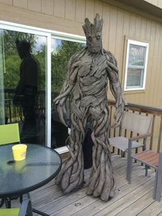 Groot Cosplay Tutorial...that's right you can create this Guardian of the Galaxy in about 6 weeks!!!