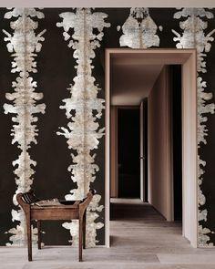 Art Deco Wallpaper, Chinoiserie Wallpaper, Bird Wallpaper, Watercolor Wallpaper, Paper Wallpaper, Bathroom Wallpaper, Oriental Wallpaper, Architecture Restaurant, Focal Wall