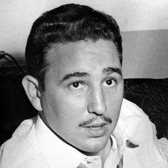 El joven Fidel. Sus padres fueron el inmigrante gallego devenido en terrateniente, Ángel Castro, y la campesina cubana Lina Ruz. #87AñosFidel (Foto: Archivo)