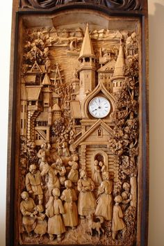 spectacular and intricate carving Chip Carving, Carving Wood, Wood Carvings, 3d Cnc, Wood Creations, Wooden Art, Wood Sculpture, Pyrography, Wood And Metal