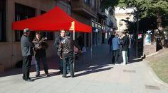 Los compañer@s de Ciudadanos C's Binéfar siguen llevanado el Movimiento Ciudadano a la gente de la Comarca Oscense de la Litera, con buen recibimiento de los vecinos.