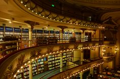 El Ateneo, a theater turned into a bookstore. Buenos Aires, Argentina.   (c) Kage Gozun, 2015