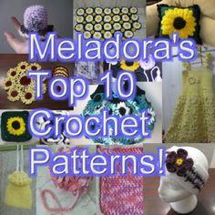 Free Crochet Patterns - Meladora's Creations - Meladora's Creations Free Crochet Patterns & Tutorials