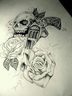 Gun & rosas