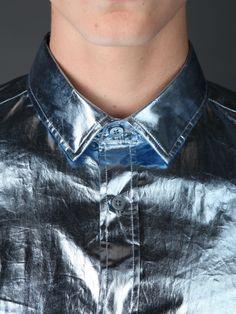 Burberry Prorsum metallic shirt