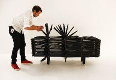 Porcupine Cabinet. Sebastian Errazuriz.