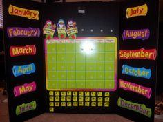 calendar activities for preschool circle time.