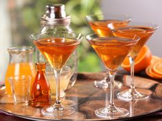 Old Vermont Cocktail recipe from Bobby Flay via Food Network