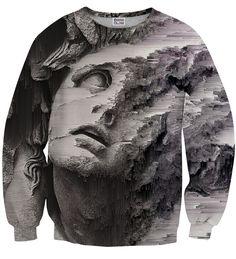 Burst of Art sweater, Mr. GUGU & Miss GO