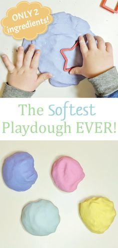 The Softest Playdough EVER! - a great, easy fine motor activity for toddlers and preschoolers by Raising Hooks The Softest Playdough EVER! - a great, easy fine motor activity for toddlers and preschoolers by Raising Hooks Art Therapy Activities, Toddler Learning Activities, Infant Activities, Preschool Activities, Sensory Activities For Toddlers, All About Me Activities For Toddlers, Art For Toddlers, Fine Motor Activities For Kids, Indoor Activities