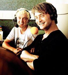 tom felton and daniel radcliffe