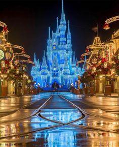 Learn what it takes to make Walt Disney World magical during the holiday season. Hades Disney, Disney Art, Disney Films, Disney Crafts, Disney Resorts, Disney Vacations, Disney Trips, Disneyland Christmas, Disney World Christmas