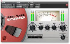 Avid Reel Tape Saturation plug-in for Pro Tools software - adds analog, tape warmth to guitar tracks