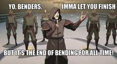 Oh Amon.... You're a good villain, we know this. xD