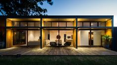 Bourne Blue #Architecture have completed the renovation of a #house near Newcastle, Australia.