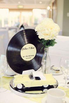 50s wedding. Boda inspirada en los años 50.