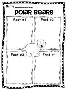 All About Polar Bears: I hope that you enjoy this fun