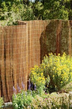 Awesome Willow Garden Fencing | Buy From Gardeneru0027s Supply...Great Idea For Cheap  Privacy